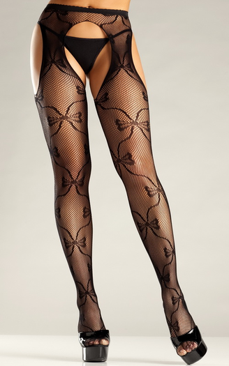 Suspender Sheer Pantyhose