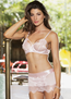 Sweet Sensation Bra, Skirt & G-String Set