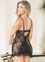 Take My Breath Away Sexy Lace Chemise & Thong Set
