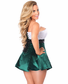 Top Drawer Strapless Holiday Corset Dress