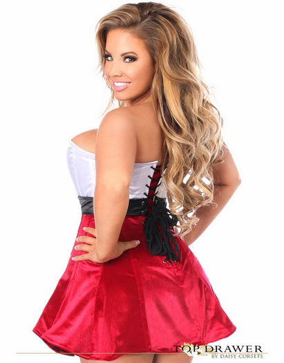 Top Drawer Strapless Sexy Corset Dress