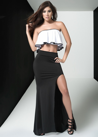 Trust Issues Strapless Top & Skirt Set