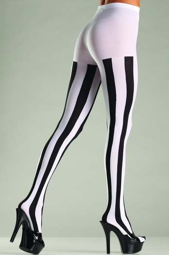 Vertical Stripe Pantyhose