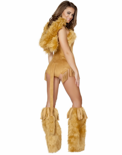 Sexy lion fetish costumes