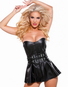 Victoria's Naughty Faux Leather Dress