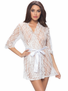 All Over You Lace Robe
