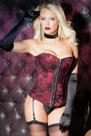Your Decadent Indulgence Gartered Corset