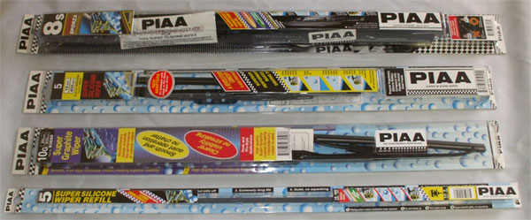 Piaa replacement wiper blades and refills spoilers4less car rear spoilers wings louvers and car bras freerunsca Gallery