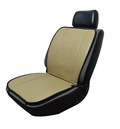 12-Volt Dual Temperature Black Beige Reversible Heated Seat Cushion