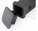 "2"" Hitch Receiver Tube Black Rubber Cover Cap Plug"