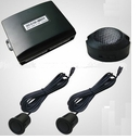2 Sensor Front or Rear Parking Kit with Buzzer