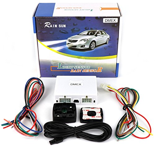 Rain Sensing Wipers: Universal Automatic Car Rain Sensor And Light Sensor Kit 2