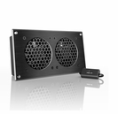 Cabinet or Multimedia Center Dual Cooling Fan Kit