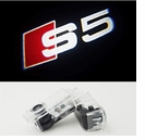 LED Logo Projector Door Courtesy Light Ghost Shadow Audi A5 S5 2008-2012