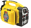 Portable 8 in 1 Power Source AC Outlets USB Air Compressor Jump starter Unit with Hand Generator