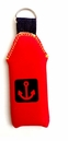 Red Floating Neoprene Key chain