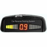 Sports Imports PS021 Wired Display 4-in Bumper Flush Mount Ultrasonic Reverse Parking Sensors
