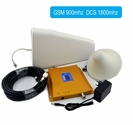 Wireless Dual band 900 and 1800MHz GSM/3G DCS LTE Cell Phone Mobile Signal Booster Extender Repeater Amplifier Kit