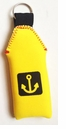 Yellow Floating Neoprene Key Chain