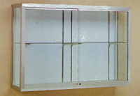 Champion 1200 Series Wall-Mounted Display Case