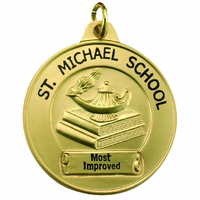 Custom Economy School Award Medal