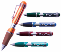 Mini Grip Custom Pens (Available in 5 Colors)