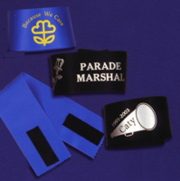 Ribbon Armbands (Mourning, Parade, etc.)