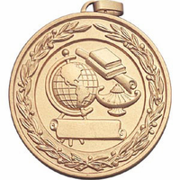 Scholastic Subject Medal with Front Imprint
