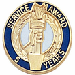 Service Award Pins - Click to enlarge