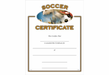 sports certificate basketball certificates baseball certificate