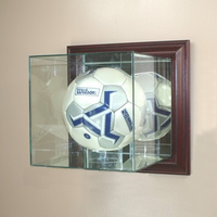 Soccer Display Case (Glass, Wall-Mounted)