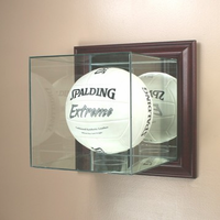 Volleyball Display Case (Glass, Wall-Mounted)