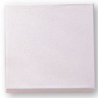 White Card Board Medal Box - Cotton Filled