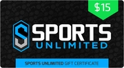 $15 Sports Unlimited Gift Certificate