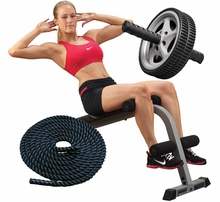Ab/Back Fitness Equipment