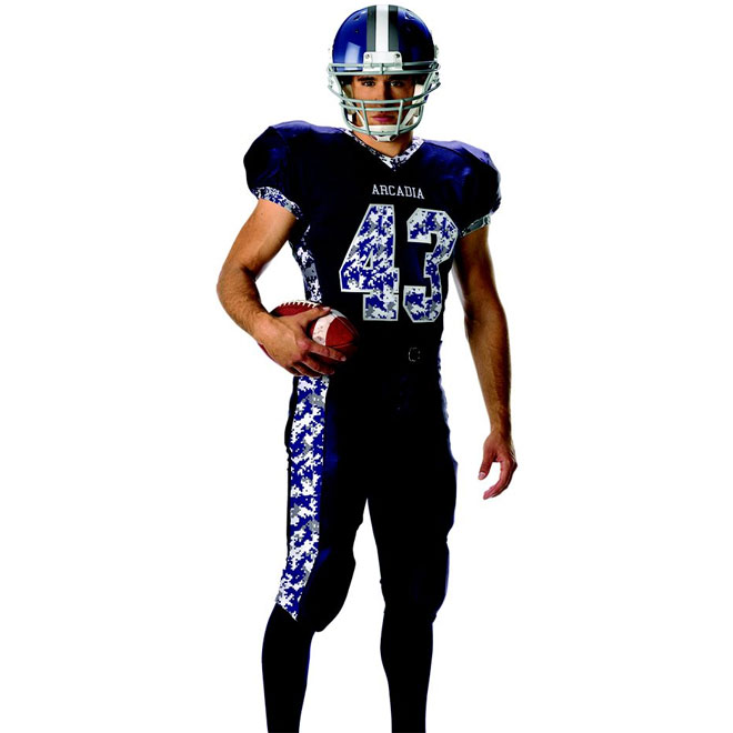 Alleson sublimated custom football jersey for Custom football jersey shirts