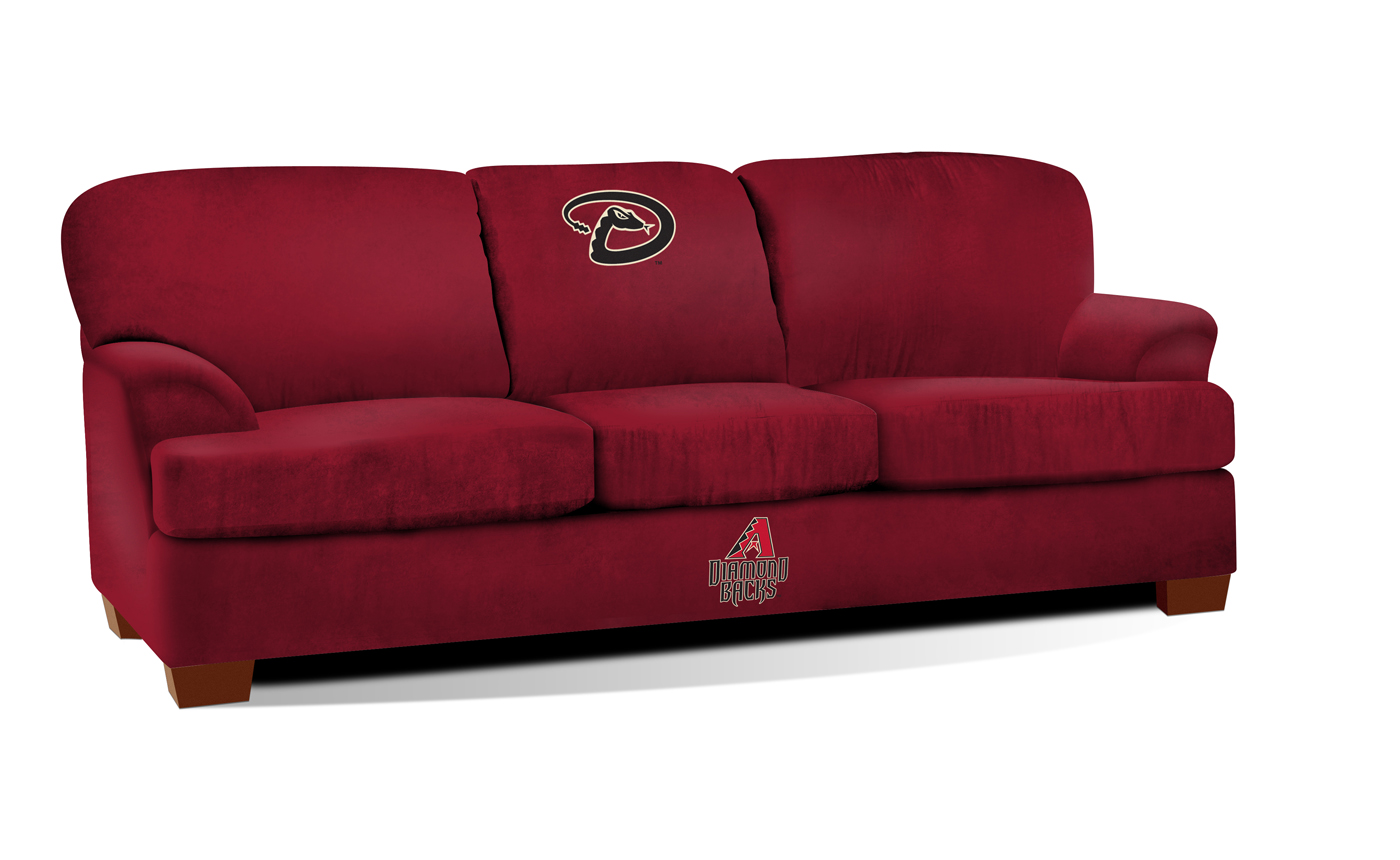 Arizona diamondbacks first team microfiber sofa Baseball sofa
