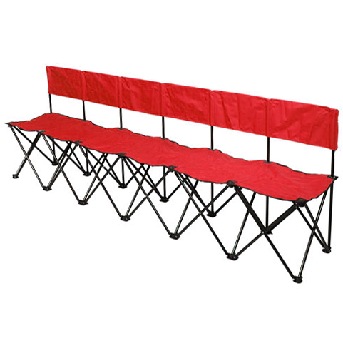 Bag A Bench 6 Seat Portable Sideline Soccer Bench