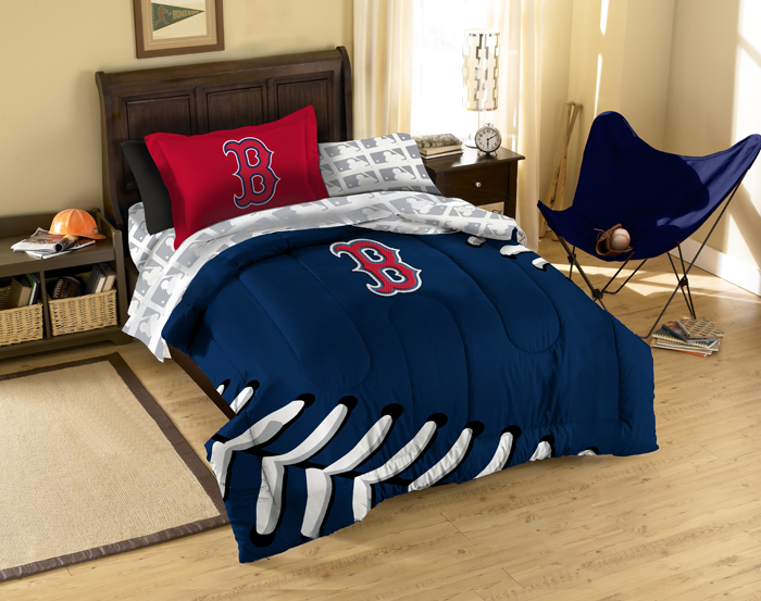 Boston Red Sox Twin Bed In A Bag Set