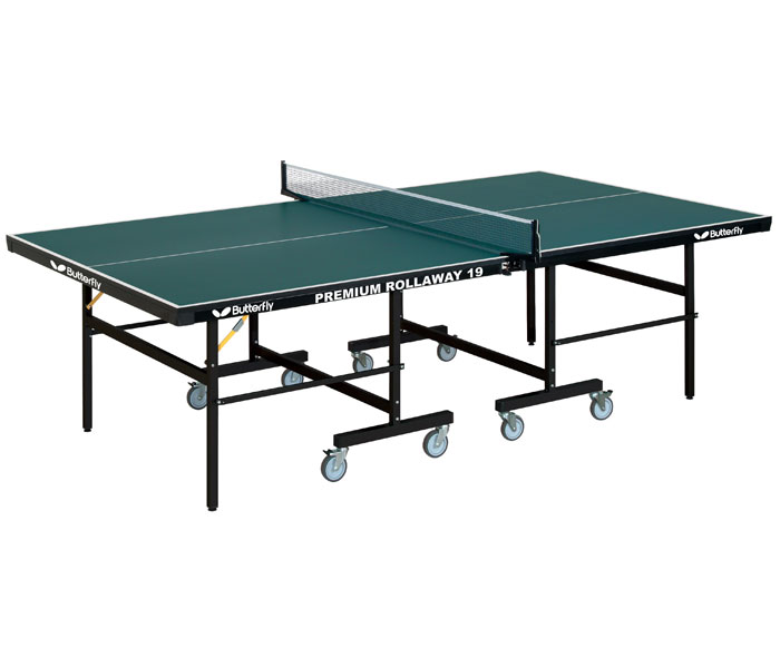 Butterfly tr35 premium rollaway ping pong table for Table ping pong