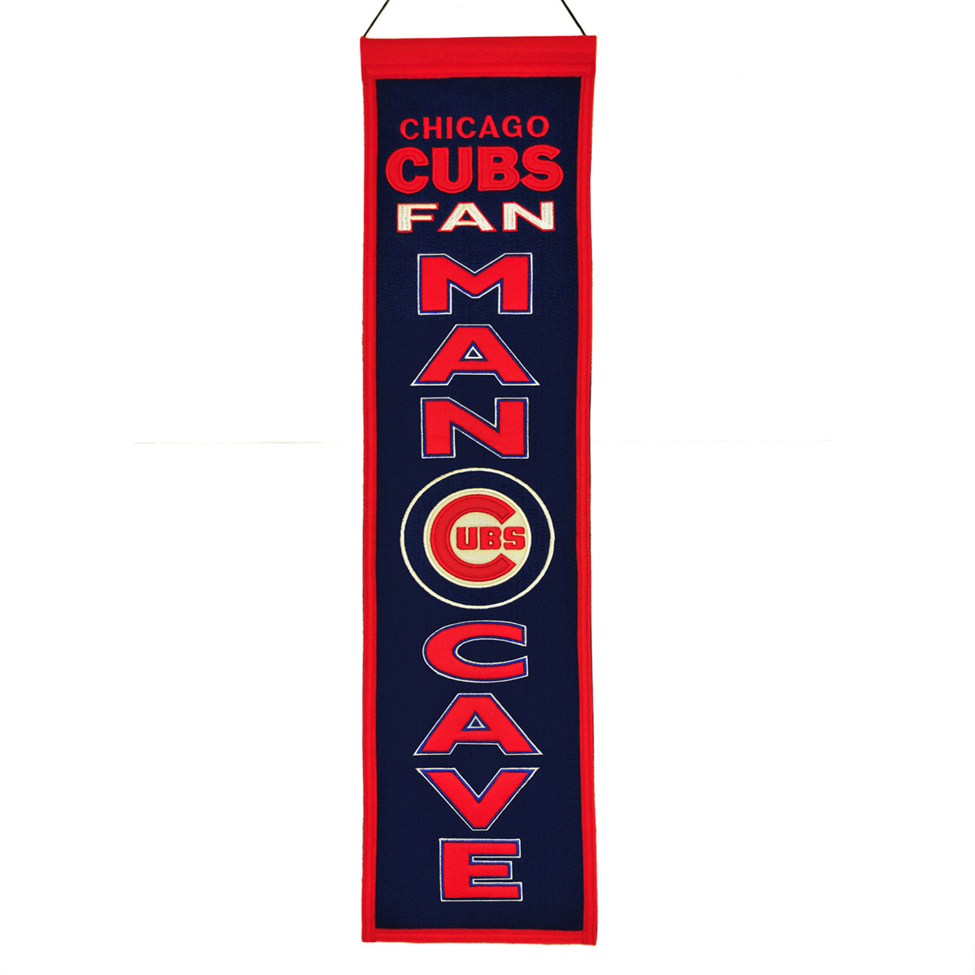Chicago Man Cave Signs : Chicago cubs man cave banner