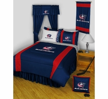 Columbus Blue Jackets Bed And Bath