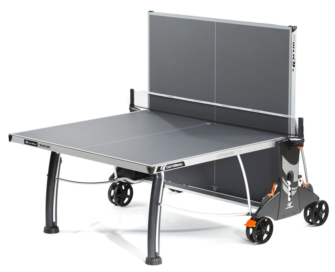 Cornilleau 400m crossover indoor outdoor gray ping pong table - Table ping pong cornilleau outdoor ...