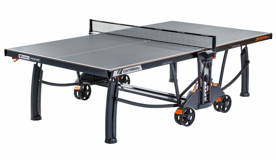 cornilleau 700m crossover indoor outdoor gray ping pong table. Black Bedroom Furniture Sets. Home Design Ideas