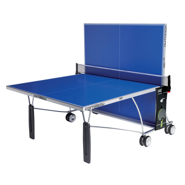 Cornilleau sport 250s outdoor ping pong table blue - Table ping pong cornilleau outdoor ...