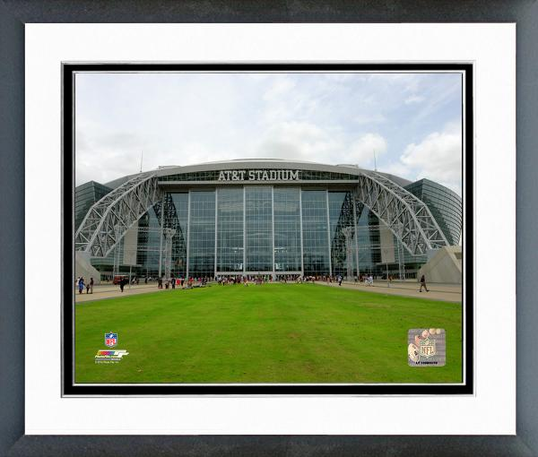 Dallas cowboys at t stadium 2014 framed photo for Dallas cowboys stadium wall mural
