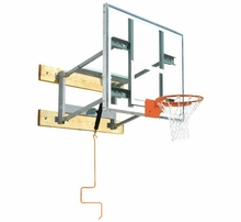 Gymnasium Adjustable Wall Mount Basketball Hoops
