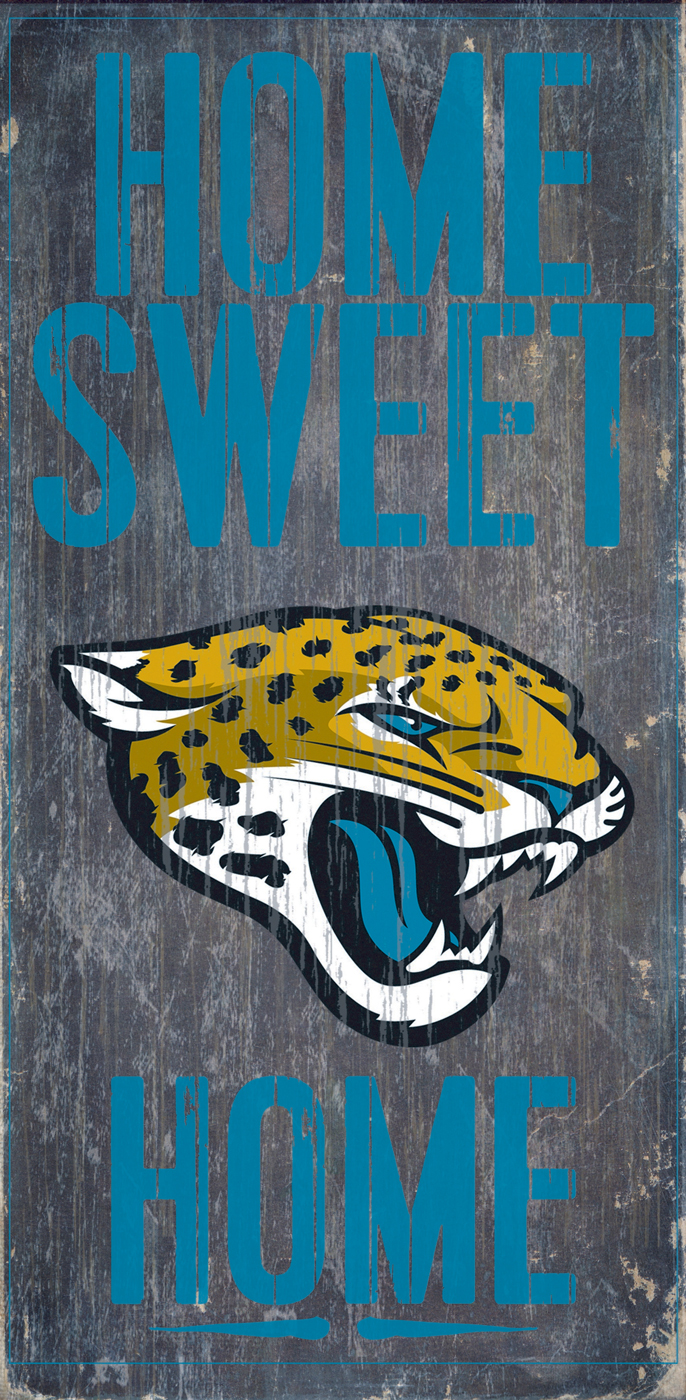 Jacksonville jaguars home sweet home wood sign for International decor outlet jacksonville
