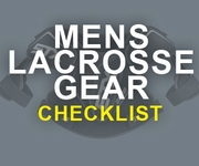 Lacrosse Equipment List, Printable Checklist for Men & Boys