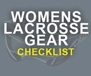Lacrosse Equipment List, Printable Checklist for Women & Girls